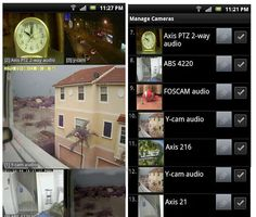 Remotely monitor your home security system with TinyCam Android app