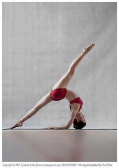 splits backbend