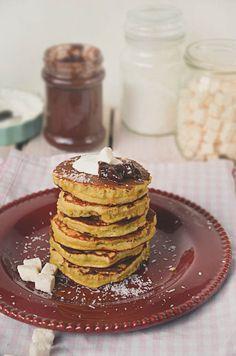 I adore cinnamon- subiektywny blog kulinarny o zapachu cynamonu: Placuszki z mąki kokosowej Cooking For Dummies, Coconut Flour Pancakes, Eat, Breakfast, Blog, Pancakes With Coconut Flour, Blogging, Morning Breakfast