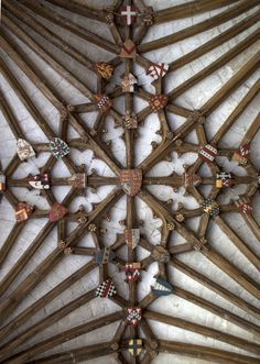 Canterbury Cathedral Cloister Ceiling 3 | by ahisgett