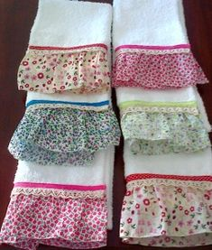 Dish Towels, Hand Towels, Sewing Crafts, Sewing Projects, Towel Dress, Sewing To Sell, Towel Crafts, Decorative Towels, Kitchen Towels