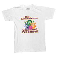 Little Monster T-Shirt - Here is a graduation award kids can wear all summer long!