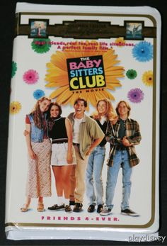 The Baby-Sitters Club movie VHS. I watched this movie a million times!!!! Ahhh memories!