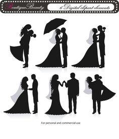 Wedding Couple Clip Art
