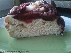 Blondynka Gotuje: Ciasto Drożdżowe ze Śliwkami