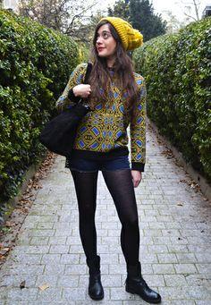 CETTE SEMAINE : Mellow Yellow j'adore le bonnet jaune