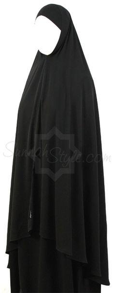 Knee Length Khimar by Sunnah Style #SunnahStyle #hijabstyle #khimar