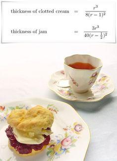 "Proper Cornish Cream Tea - cream on top.  Lots more info on scones in ""The Secret Life of Scones""  #afternoontea #baking #creamtea http://www.amazon.co.uk/Genius-Recipe-Secret-Life-Scones-ebook/dp/B00NBXGVVU/ref"