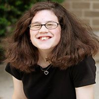 """Joanna Bendel communicates with something she calls her """"talker."""" She has apraxia, a motor speech disorder that makes it hard for her to speak and be understood. But she wants people to know she still has a lot to say. Wath Joanna's story and see how Cincinnati Children's changed her outcome."""