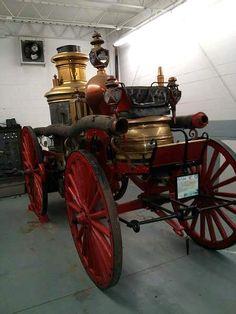 Steam Fire Engine Cart. ... =====>Information=====> https://www.pinterest.com/shannonrenfrow/fire-stationsapparatusgearmemorials/