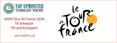 The Tour De France 2018 has started. Here are the TV Schedules. Tv Schedule, Trance, Budgeting, Tours, Technology, Tech, Trance Music, Budget Organization, Tecnologia