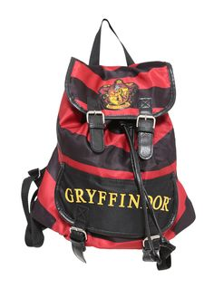 Harry Potter Gryffindor Slouch Buckle Bag | Hot Topic