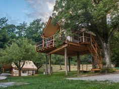 A dream come true tree house in our glamping resort.