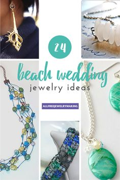 You're going to want to steal all the ideas from this collection of Beautiful Beach Jewelry. Seriously, these DIY beach jewelry ideas are stunning.