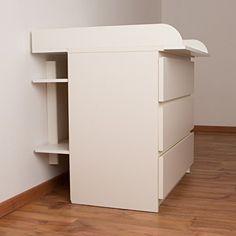 Wandregal, Regal für Wickeltisch (passend zum Puckdaddy Wickelaufsatz für IKEA Malm Hemnes) PuckDaddy http://www.amazon.de/dp/B00U3N7JRQ/ref=cm_sw_r_pi_dp_ekBBwb1NBWZWZ