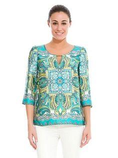 blusas con pañuelos de seda - Google Search