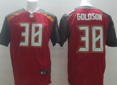 a3a6e695ff2 Soccer Rugby Jerseys Tampa Bay Buccaneers  38 Dashon Goldson 2014 Red Elite  Jersey Nfl Shop