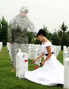 Alot of people lost their whole world because a Hero gave his life for safety and peace in our world! God Bless Our Military Families!!