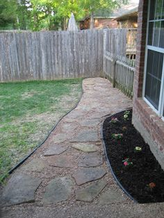 Backyard Walkway Ideas landscaping tips for your backyard walkway ideaspatio This Weekend Bear And I Completed A Project From Start To Finish Can You Believe Backyard Walkwaywalkway Ideasbackyard