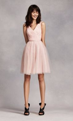 Vera Wang White VW360206 BLUSH wedding dress currently for sale at 77% off retail.