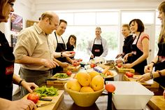 Chef Timothy Healthy Live Cooking course