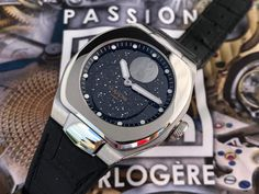 Watch 2, Smart Watch, Bracelet Cuir, Articles, Passion, Collection, Design, Dark Night, Starry Nights