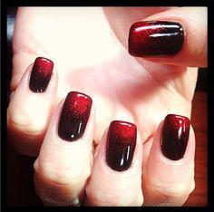 Black & red sparkle gradient!