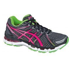 Steun en comfort dankzij de @ASICS Europe Gel-Kayano 19 T350N hardloopschoenen dames. Schoenen met een goed sluitende pasvorm. #dws