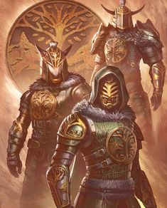 """A balance of pelt and pewter adorns these guardians of the Iron Banner from Destiny Which class did you pick? """"Destiny 2 Iron Banner"""" by cgfelker Destiny Bungie, Destiny Hunter, Destiny Game, Armor Concept, Concept Art, Character Concept, Character Art, Arte Ninja, Fantasy Armor"""