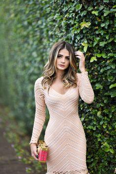 Vestido de Tricot Longo_Galeria Tricot_Thassia Naves_2