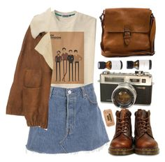 """Joy Division"" by child-of-the-tropics ❤ liked on Polyvore featuring Wunderkind, Boomerang and Dr. Martens"