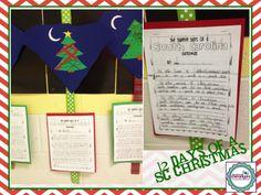 2nd Grade Shenanigans: 12 Days of Carolina Christmas Song! so cute!