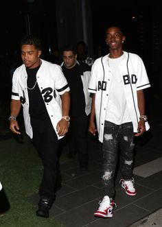 Justin Dior Combs and Christian Combs attend BET Awards after party at BOA Steakhouse in LA