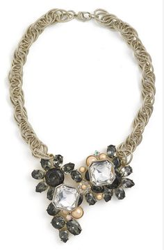 Statement St. John necklace - gorgeous with a statement suit!