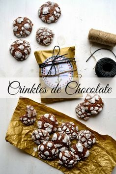 Sweet Gula: Crinkles de Chocolate