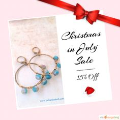 15% OFF on select products. Hurry, sale ending soon!  Check out our discounted products now: https://www.etsy.com/shop/CeliaElizabethJewels?utm_source=Pinterest&utm_medium=Orangetwig_Marketing&utm_campaign=Christmas%20in%20July!   #etsy #etsyseller #etsyshop #etsylove #etsyfinds #etsygifts #handmade #loveit #instacool #shop #shopping #instagood #instafollow #love