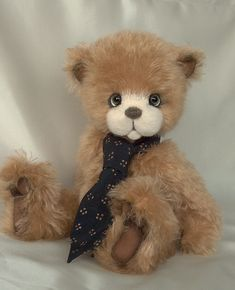 Sampson - Long Long Ago Collectibles by Teddy Bear Artist Pat Youderin