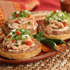 Receta sopes de pollo. PLATILLO TIPICO DE LA CD DE MEXICO