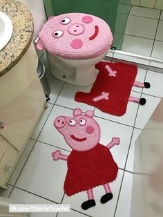 CROCHET FOR HOME - PEPPA PIG - Why not :-) ??