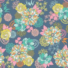 Josephine Kimberling: Hope Chest Floral Blue