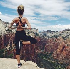 yoga with a view | movenourishbelieve.com #lornajane #fitspo #activeliving