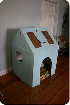 i am TOTALLY making this for my little boo with our leftover boxes after we move. so fun!