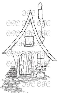Sello de digital Home Sweet Home por OakPondCreations en Etsy