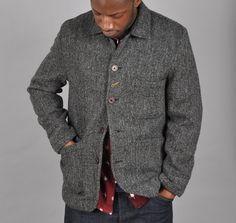 Harris tweed mantel kaufen