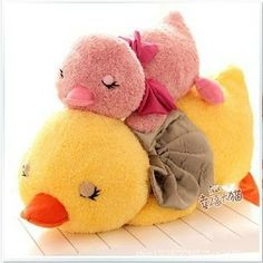 Big blue doll cute doll Papa duck yellow duck plush toys large pillow cushions