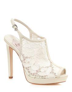 Faith lace shoe boot, Lipsy #wedding #shoes