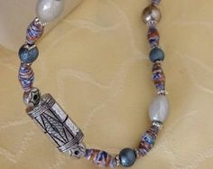 Pocahontas  paper Bead Necklace