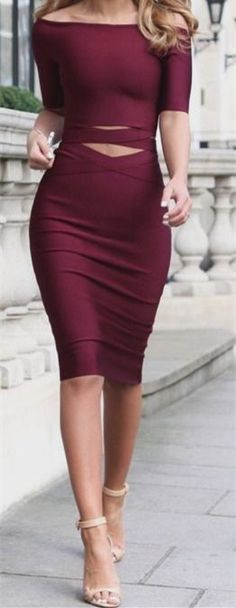 Bateau Prom Dress,Burgundy Prom Dress,Sheath Prom Dress,Fashion Prom