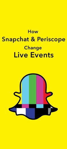 Get a glimpse of behind-the-scenes with Snapchat and Periscope during the live events season. See how the Grammy's, Oscars, etc. have been transformed forever.