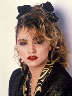 Madonna 1985 Hairstyles -DailyMakeover.com